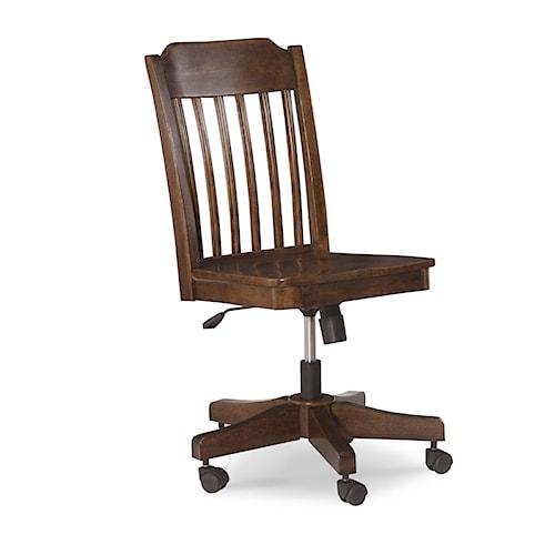 Legacy Classic Kids Big Sur By Wendy Bellissimo Slat Back Desk Chair Wayside Furniture