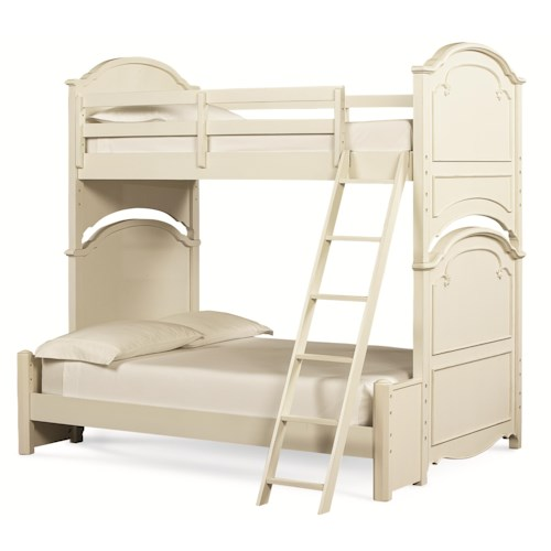 Legacy Classic Kids Charlotte Twin Over Full Bunk Bed Stoney Creek Furniture Bunk Beds