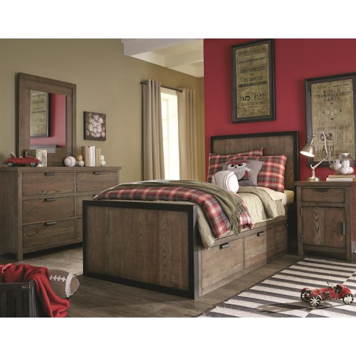 Legacy Classic Kids Fulton County Full Bedroom Group Belfort Furniture Bedroom Group
