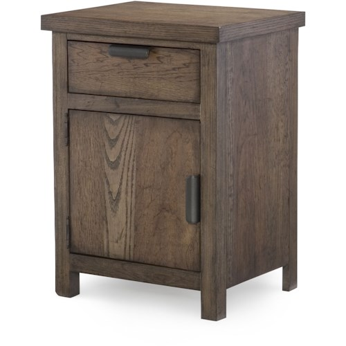 Legacy Classic Kids Fulton County Night Stand With Drawer And Door Wayside Furniture Night Stand