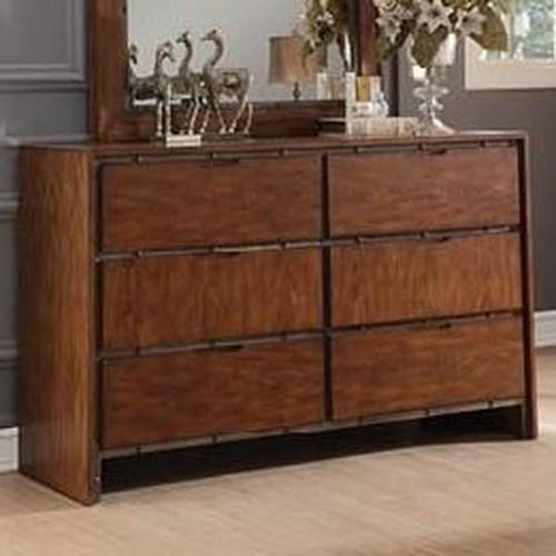 Legends furniture crossgrain collection crossgrain dresser for Furniture r us fayetteville nc