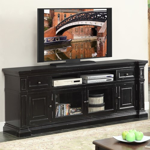 Legends furniture manchester 80 inch traditional media for 80 inch couch