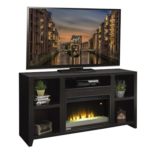 Legends furniture urban loft ul5201 moc 63 fireplace tv console del sol furniture tv stands Urban home furniture online