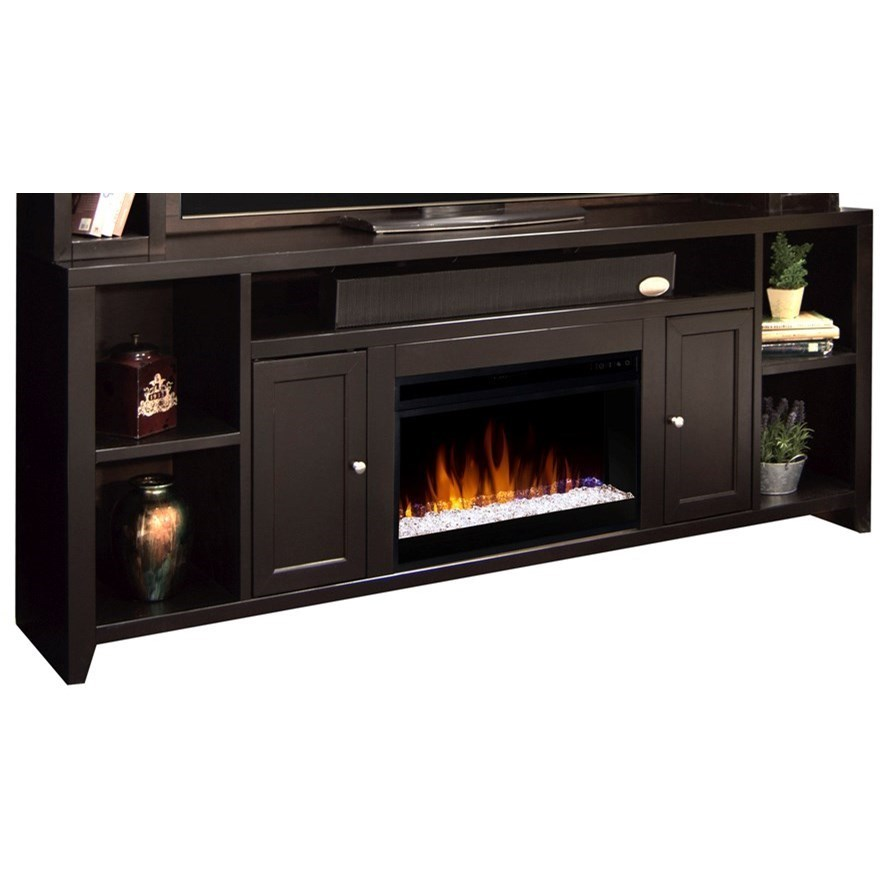 Legends Furniture Urban Loft Ul5284 Moc Fireplace Console