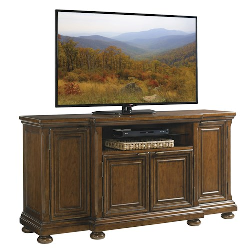 Lexington Coventry Hills Danbury Media Console With Wire Management Grommets Godby Home