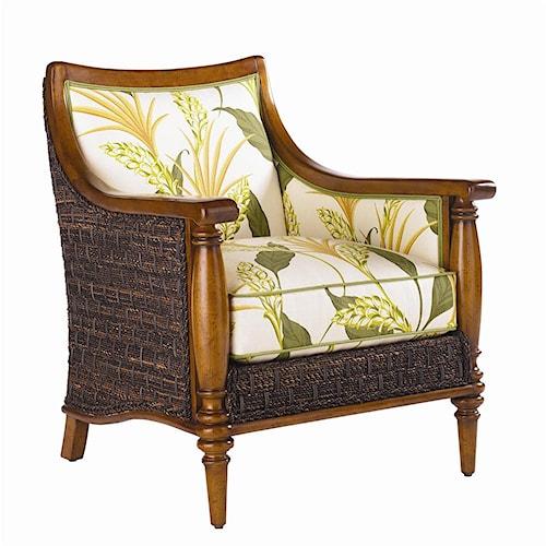 Tommy Bahama Home Island Estate 1695 11 Agave Chair Baer