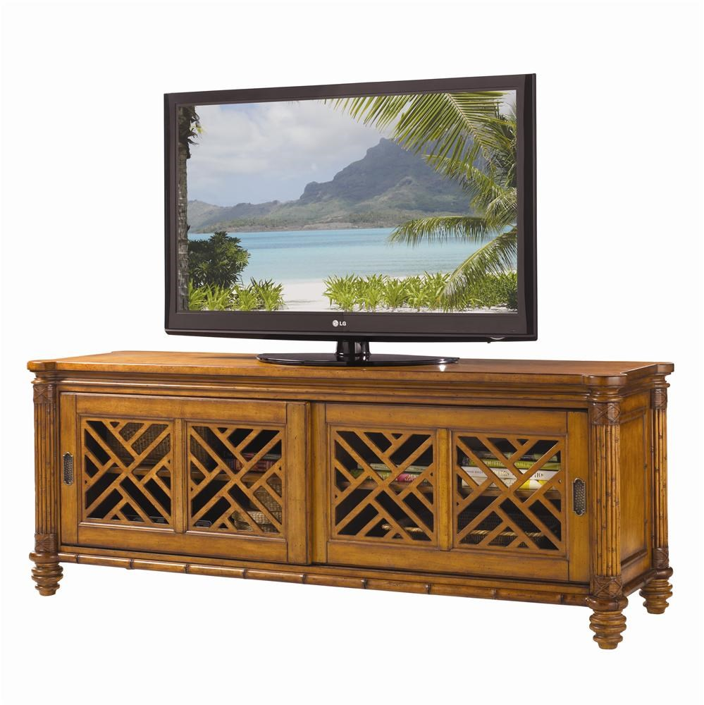Tommy Bahama Home Island Estate 531-909 Nevis Media Console : Baeru0026#39;s Furniture : TV Stands Miami ...