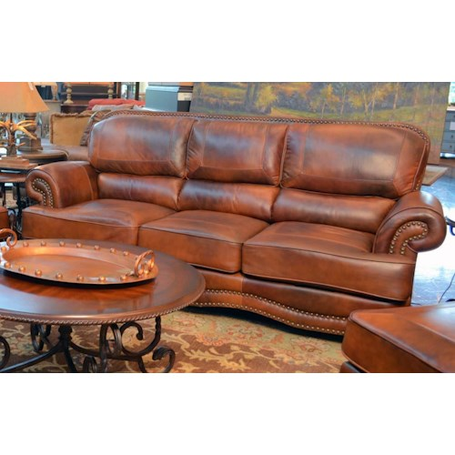 Lg interiors cowboy cowboy leather sofa great american Cowboy sofa