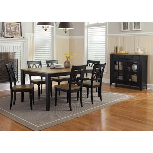 Liberty Furniture Al Fresco Ii Dining Room Group 2 Prime Brothers Furniture Casual Dining