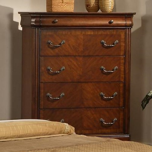 Liberty furniture alexandria traditional chest with for Zfurniture alexandria