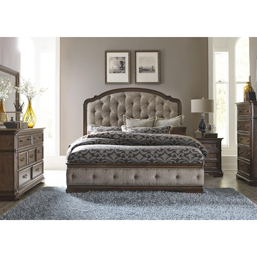 Liberty furniture amelia king bedroom group godby home for Bedroom furniture indianapolis