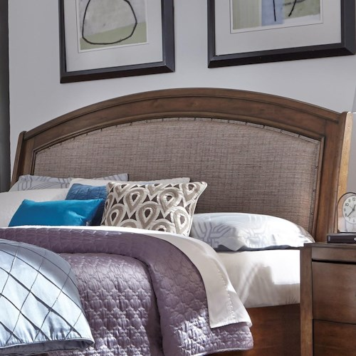 Liberty Furniture Avalon Iii 705 Br24hu King Upholstered Headboard Northeast Factory Direct