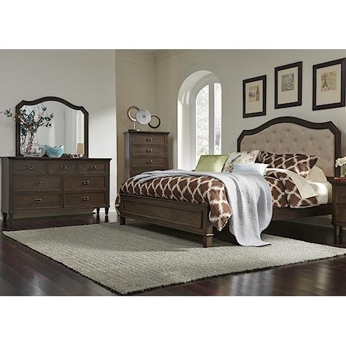 home bedroom group liberty furniture berkley heights queen bedroom