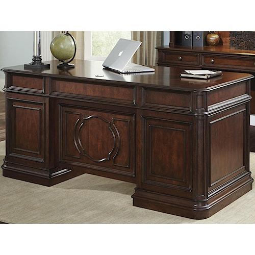 Liberty Furniture Brayton Manor Jr Executive Traditional