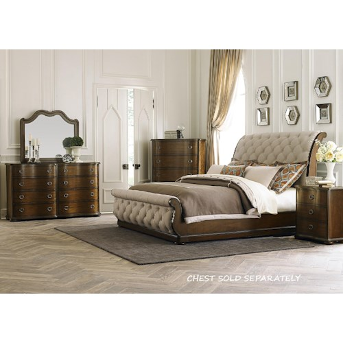 Home Bedroom Groups Liberty Furniture Cotswold Queen 4 Piece Bedroom