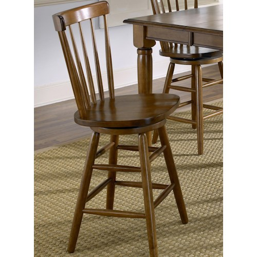 Liberty furniture creations ii 30 inch bar stool h l for Dining room tables 38 inches wide