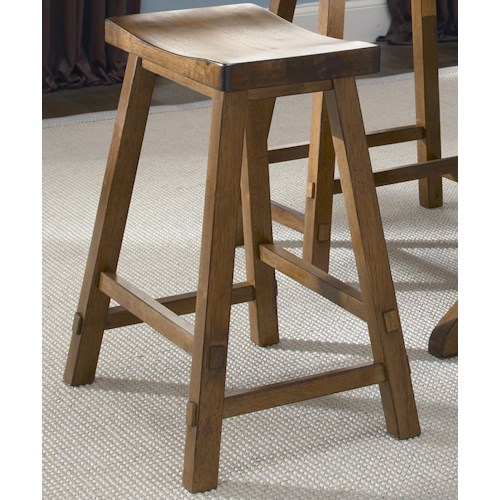 Liberty furniture creations ii 30 inch sawhorse barstool for Dining room tables 38 inches wide
