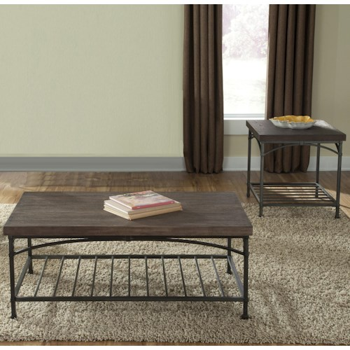 Liberty Furniture Franklin Three Piece Occasional Table Set Pilgrim Furniture City
