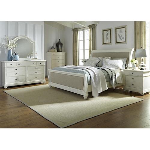 Liberty Furniture Harbor View Queen Sleigh Bedroom Group J J Furnitur