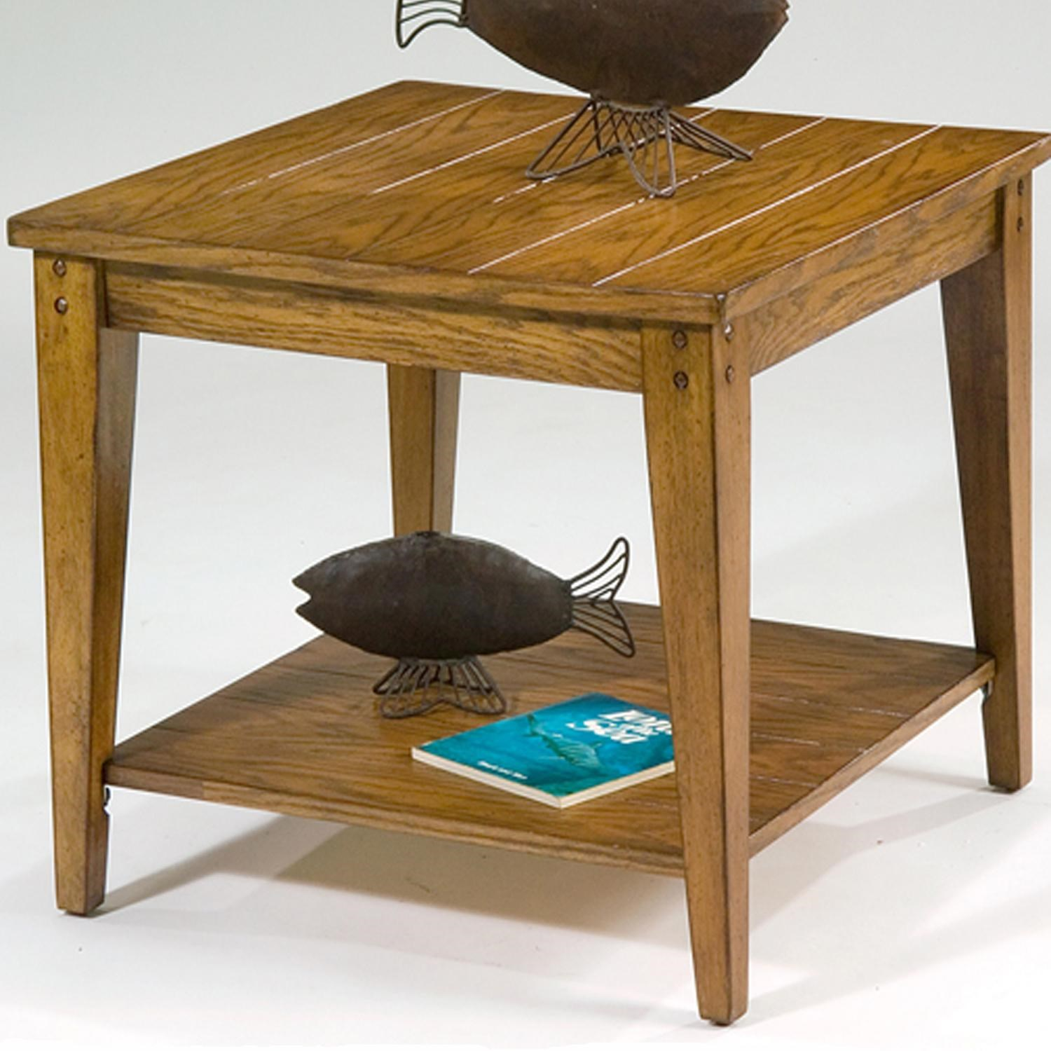 Liberty Furniture Lake House Occasional End Table L Fish