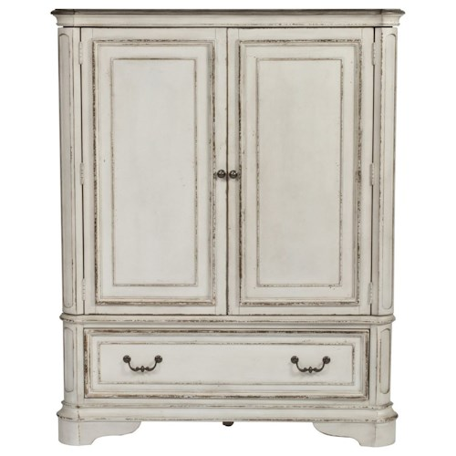 Liberty Furniture Magnolia Manor 244 Br42 Door Chest