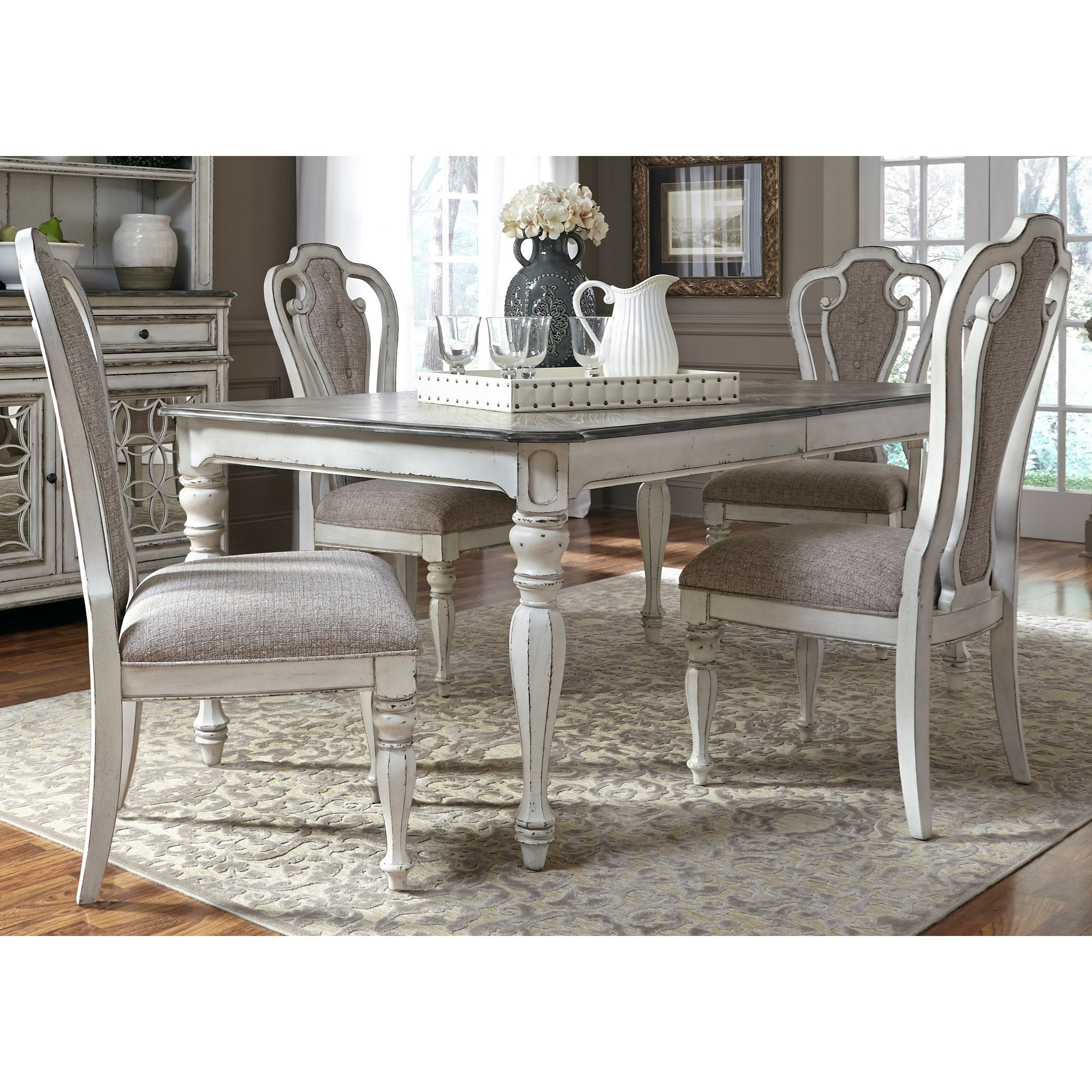 Liberty Furniture Magnolia Manor Dining 5 Piece