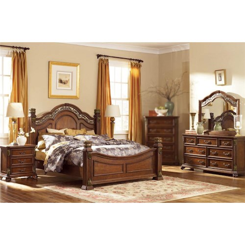 Estella 4pc Queen Bedroom Set Rotmans Bedroom Group Worcester Boston Ma Providence Ri