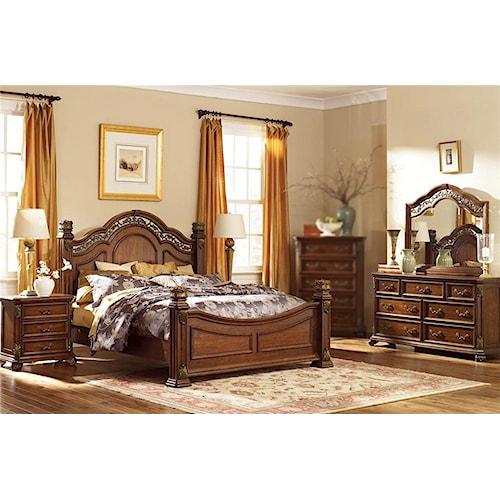 Estella 4pc Queen Bedroom Set Rotmans Bedroom Group