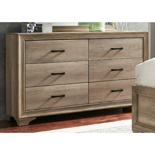 Sydney dresser with 6 dovetail drawers rotmans for Bedroom furniture sydney
