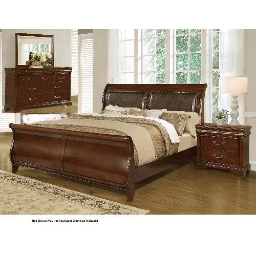 Lifestyle 4116A- Misk 4PC Queen Bedroom Group