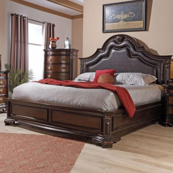 Lifestyle Jade King Upholstered Bed