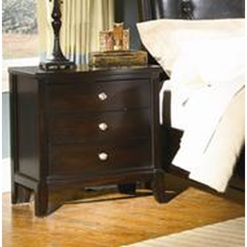 Lifestyle 7185a bedroom night stand ivan smith furniture for Ivan smith furniture