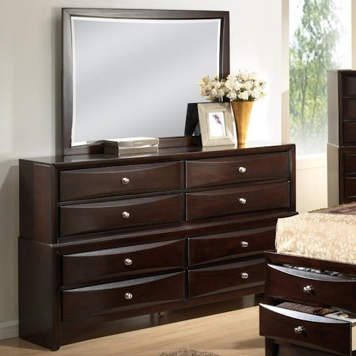 home bedroom furniture dresser mirror lifestyle c0172 dresser and