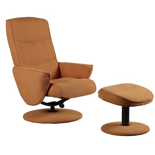 Mac Motion Chairs Mac Motion Chairs Contemporary Swivel Recliner And Ottoman