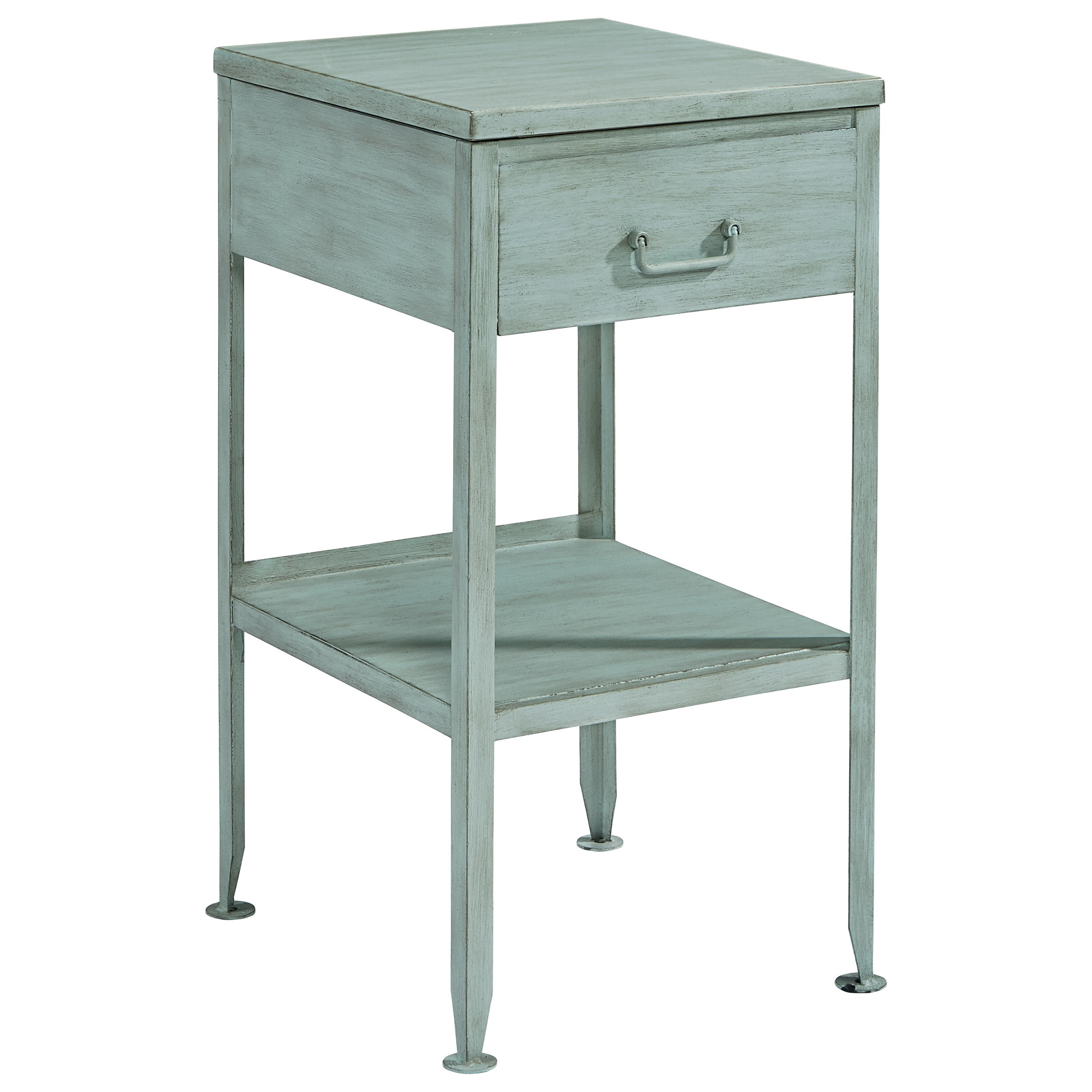 Magnolia Home By Joanna Gaines Accent Elements Small Metal Side Table Hudson S Furniture End