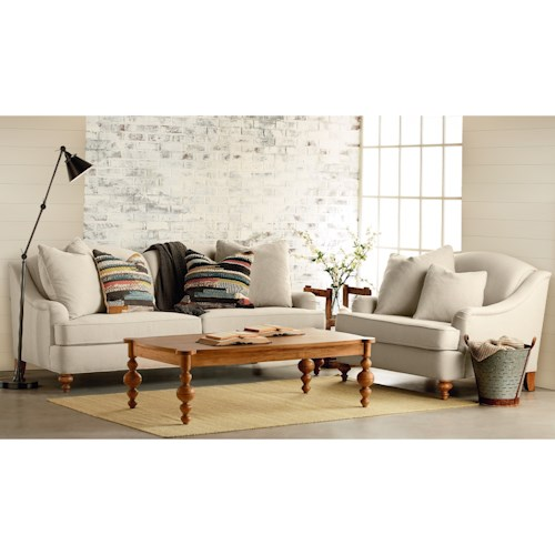 Magnolia Home By Joanna Gaines Adore Living Room Group Ivan Smith Furniture Upholstery Group