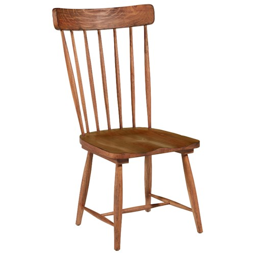Magnolia Home By Joanna Gaines Farmhouse Spindle Back Side Chair Ivan Smith Furniture Dining