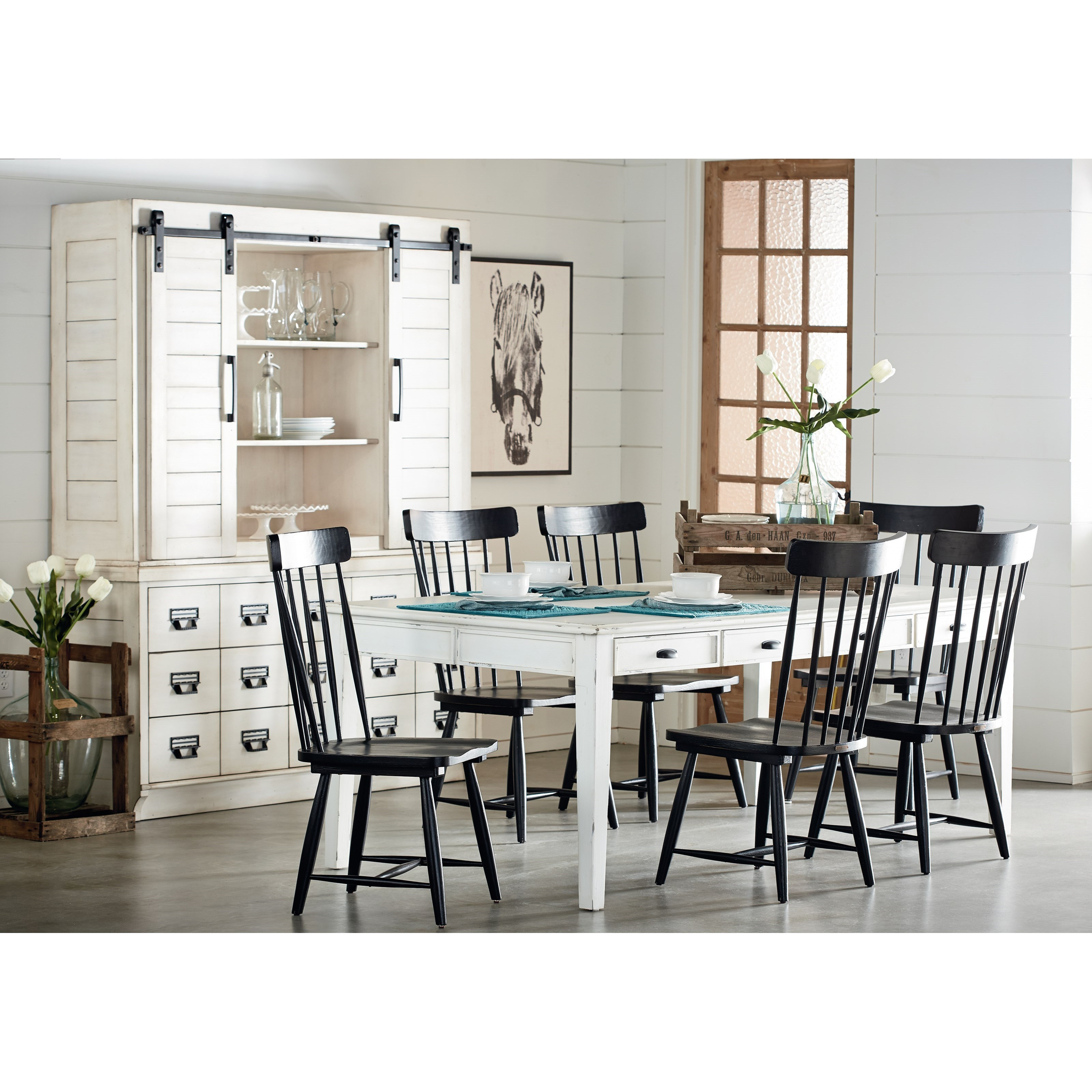 Magnolia Home by Joanna Gaines Farmhouse Kitchen Dining Group - Ivan Smith Furniture - Casual ...
