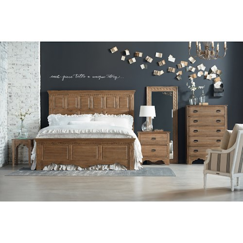 Magnolia Home By Joanna Gaines Farmhouse King Bedroom Group Furniture Fair North Carolina