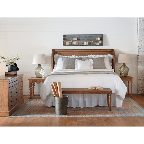 Magnolia Home By Joanna Gaines Farmhouse Queen Bedroom Group Ivan Smith Furniture Bedroom Groups
