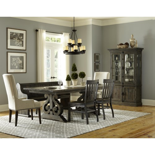 bellamy dining table 2 wood chairs 2 upholstered c