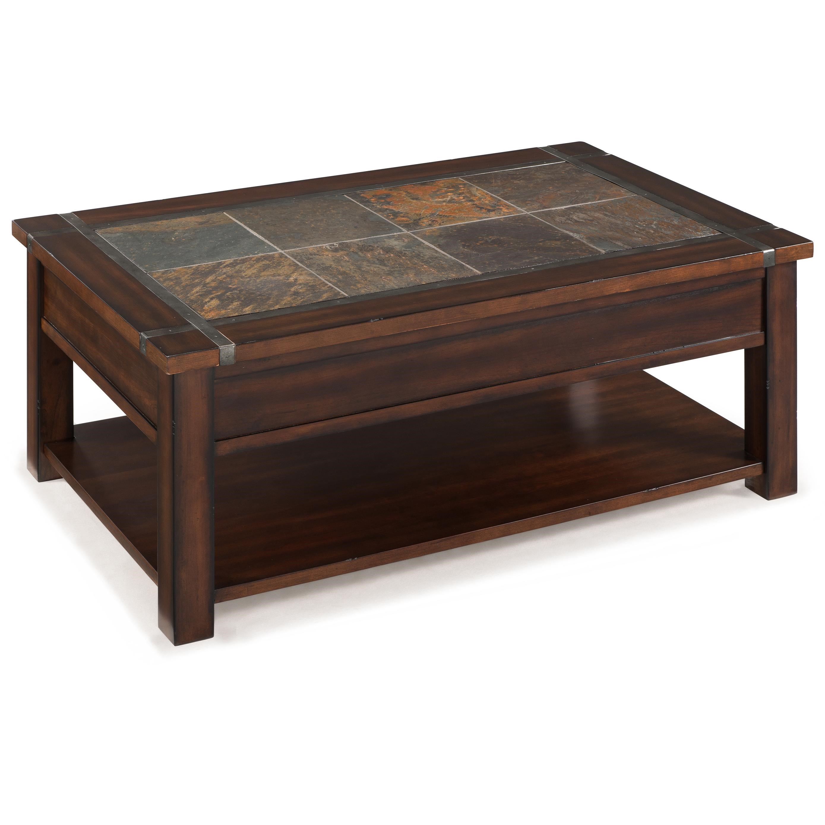 Roanoke Furniture Stores Home Roanoke Rectangular Lift Top Cocktail Table | Hudson's Furniture ...