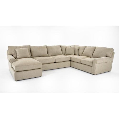 Freestyle Collections 0659 Harris Sectional With Chaise