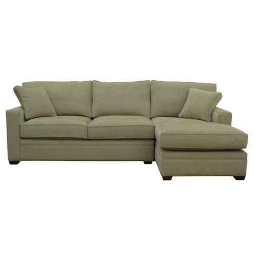 Bemodern Porter 2 Piece Sectional Sofa With Right Arm