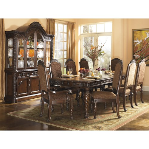 Millennium north shore formal dining room group miskelly