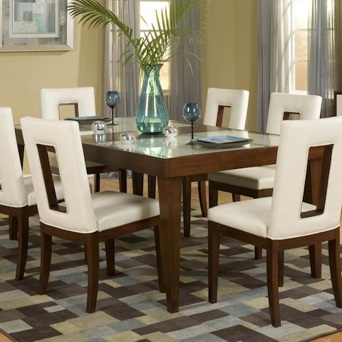 Najarian Enzo Dining DTENZFTCW Rectangular Table