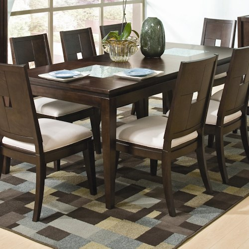 Formal Table W Leaf Spiga By Najarian Wilcox Furniture Dining Room Tab