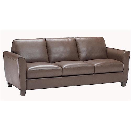 Natuzzi Editions B592 Stationary Contemporary Sofa