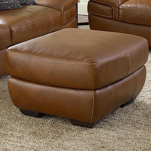 Natuzzi Editions B806 B806 010 Ottoman Baer S Furniture