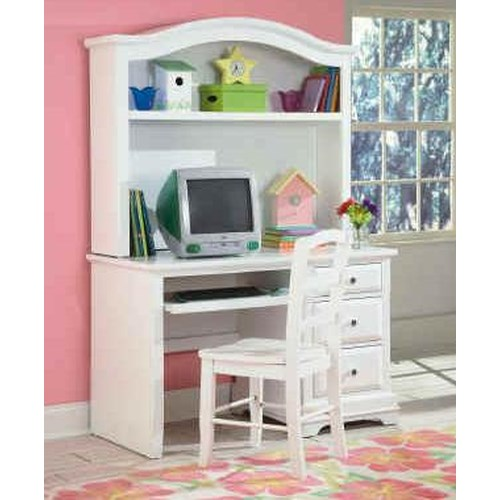 New Classic Bayfront Student Desk Hutch Dunk Bright